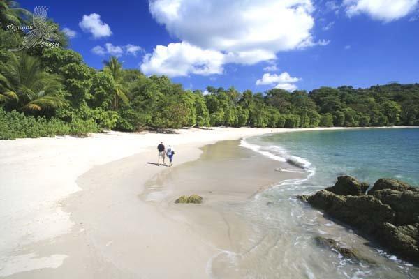 Playa de Manuel Antonio en Costa Rica